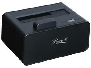 """Rosewill 2.5""""/3.5"""" SATA III USB 3.0 LED Docking Station and Easy Ejection RX234"""
