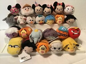 "Disney Tsum Tsum lot of 24 assorted mini 3"" plushes"