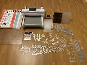 Sizzix Big Shot Plus A4 Manual Die Cutting And Embossing machine + Die Bundle
