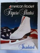American Rocket 524 figure ice skates pre owned with box size 9