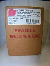 New Federal Signal Strobe Light Red Streamline 120 Vac Ser A Lp3s 120r