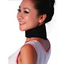 Tourmaline Far Infrared Ray Heat Health Neck Brace Support Strap Pain Relief FE