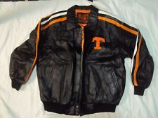 Tn Volunteers Leather Jacket Heavy Weight Adult Size Xl New Without Tags!