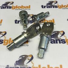 Land Rover Defender Door Lock Barrel & Key Set x4 - Quality OEM Part - MTC6505