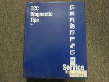 2002 GMC Service Know How TCC Diagnostic Tips VHS Video Cassette FACTORY OEM