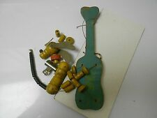 VINTAGE Disney PLUTO Marionette Puppet FISHER PRICE TOYS