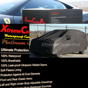2002 2003 2004 2005 Mercury Mountaineer Waterproof Car Cover BLACK W/MIRRORPOCKE