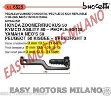 6528 BUZZETTI - PEDIVELLA LEVA PEDALE AVVIAMENTO HONDA ZOOMER / RUCKUS 50