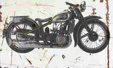 DKW Sport500 1936 Aged Vintage SIGN A3 LARGE Retro