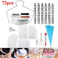 73 pcs Baking Supplies Kit DIY Cake Cupcake Decorating Icing tips Set Tools USA