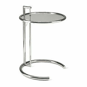 E1027 Adjustable Height Table | Designed by Eileen Gray | Stile