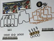 HONDA CBR 900 / Keihin FCR Carburetor Rebuild Kit + Stainless Bolts CBR900 900RR