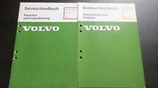 Werkstatthandbuch Volvo 340 ab 1984 Motor D16 Reparatur Schmierung Konstruktion