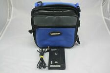 CASE LOGIC PORTABLE CD PLAYER CASE WITH AIWA CAP-6 CASSETTE ADAPTER.