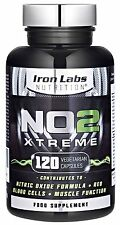 NO2 Xtreme | 120 Capsules | Preworkout Nitric Oxide Pump Maximiser | Pre-workout