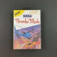 Thunder Blade Sega Master System | Missing Manual | Ozisoft Release