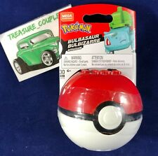 MEGA Construx - Pokemon Pokeball Set - BULBASAUR (30 Pieces) - New