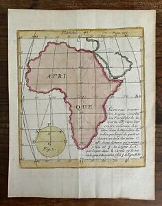 Bion Map of Africa (1700s)