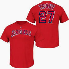 Mike Trout Los Angeles Angels of Anaheim MLB Majestic Player Men T Shirt M d2fd0bdec