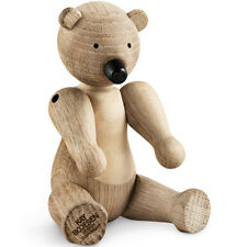 Kay Bojesen Genuine Designer Wooden Bear Figurine by Rosendahl 39251