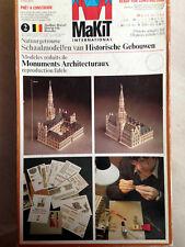 Rares Kartonmodell  MaKiT Nr. 2  Das Brüssler Rathaus