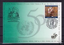 Michel-Nr. UNO NY 689, Show Card 27, o United Nations, NY 10017, 3.9.95