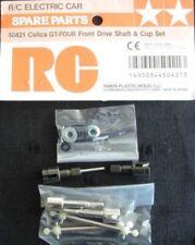 Tamiya 50421 Celica GT-Four Front Drive Shaft & Cup Set TA01 TA02 NIP