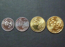 Set 4pcs Malaysia Coins - 3rd Series New Design Issue 2012 - UNC