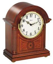 HERMLE klassische Tischuhr 22827-072114 Westminster + Ave Maria Intarsien Mahago