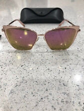 ** NEW Diff EYE WEAR Becky SUNGLASSES rose gold/pink ***
