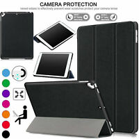 For iPad 10.2 8th Gen (2020) Leather Smart Case Magnetic Slim Flip Stand Cover
