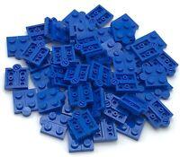 Lego 50 New Blue Hinge Plates 1 x 4 Swivel Base w/ Same Color Hinge