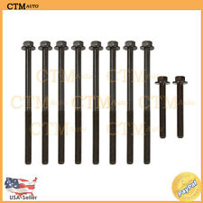 Cylinder Head Bolts For 96-02 Chevrolet Pontiac Oldsmobile Buick 2.4L I4 Malibu