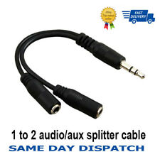 Brand New 3.5mm Jack Headphone Splitter Cable Adaptor STEREO Lead,Audio Splitter
