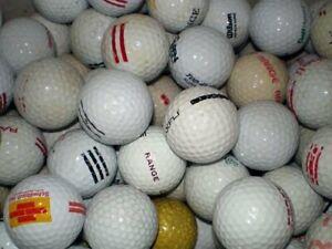 100 Range Golfbälle ! Crossbälle ! Crossgolfbälle oder Training !