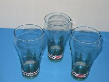 Vintage Coca Cola Glasses from about the 1980's, First Class Condition