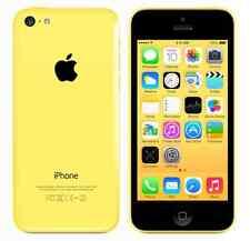 IPHONE 5C 16 GB JAUNE NIVEAU B + ACCESSOIRES + GARANTIE - REMIS À NEUF USAGÉ