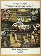 1975 Mazda RX-4 Rx4 rotary-engine car 12x photo vintage print Ad