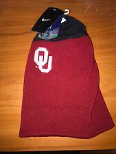 NWT Nike Oklahoma Sooners Cuffed Sideline Beanie Hat One Size Crimson MSRP$30