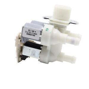 Elettrovalvola valvola carico acqua 3 vie 90° per lavatrice Miele