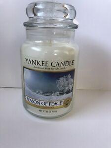 New Yankee Candle 'Season of Peace' 22 oz. Jar Candle