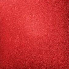 "Kaisercraft 12x12"" Glitter Cardstock - RUBY - Red - Scrapbooking Christmas"