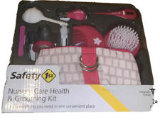 Safety 1ˢᵗ ALL-IN-1 NURSERY CARE HEALTH & GROOMING KIT Baby Infant PINK OnTheGo