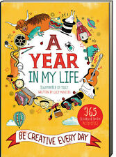 A Year in My Life Be Creative Every Day by Lucy Menzies(Paperback) FREE ship $35