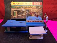MATCHBOX BP SERVICE STATION SET and ACCESSORY PACK  PUMPS IOB