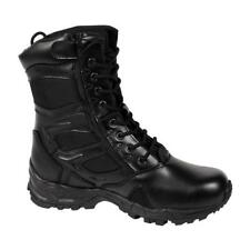 Rothco Forced Entry Deployment Boot With Side Zipper - Black - 5358