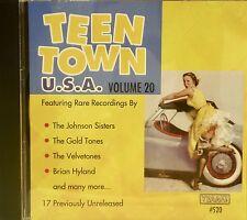 TEEN TOWN U.S.A. - Volume #20 - 25 VA Tracks