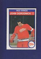 John Ogrodnick 1982-83 O-PEE-CHEE OPC Hockey #92 (EXMT) Detroit Red Wings