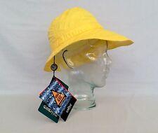 New $79 Chervo Yellow Golf Hat-Unisex-Adult Aqua Block Coating-Size M - Rare/Htf