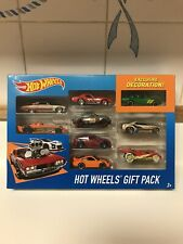 Hot Wheels Gift Pack 9 Cars Exclusive Decoration Mattel Toy Cars NEW IN PACKAGE